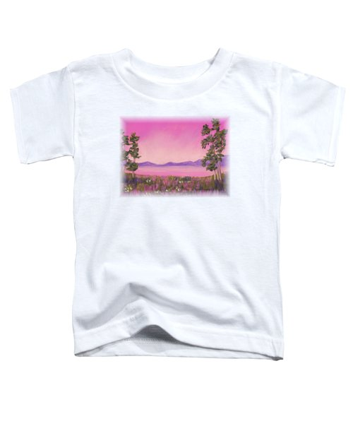 Evening In Pink Toddler T-Shirt