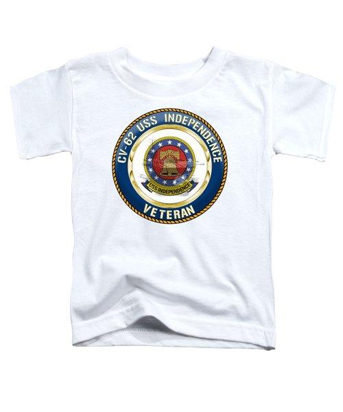 Cv-62 Uss Independence  Toddler T-Shirt