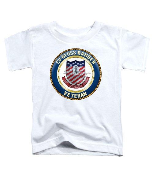 Cv-61 Uss Ranger Toddler T-Shirt