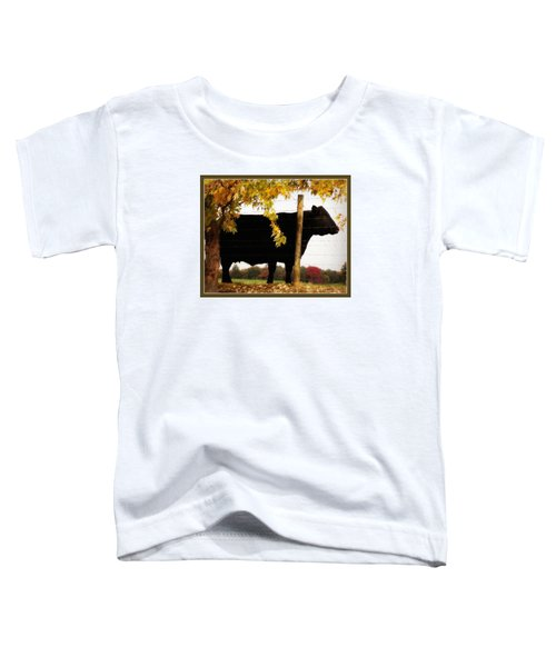 Cow Majesty Toddler T-Shirt
