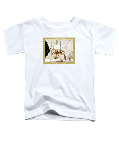 Winter Holiday Toddler T-Shirt by Anita Faye