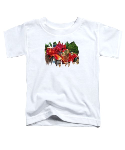 The Red Bell Roadster Toddler T-Shirt