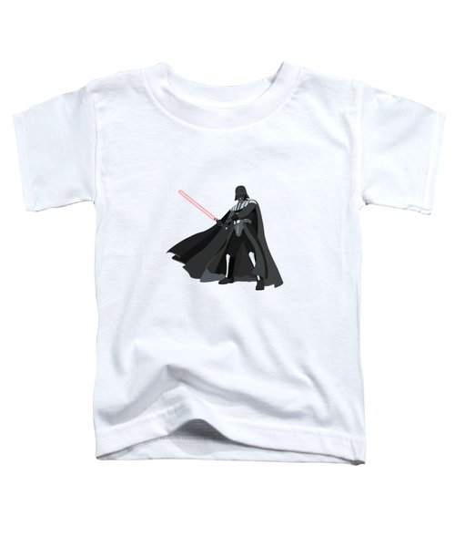 Darth Vader Star Wars Character Quotes Poster Toddler T-Shirt