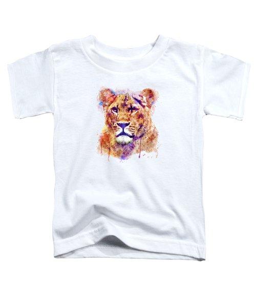 Lioness Head Toddler T-Shirt