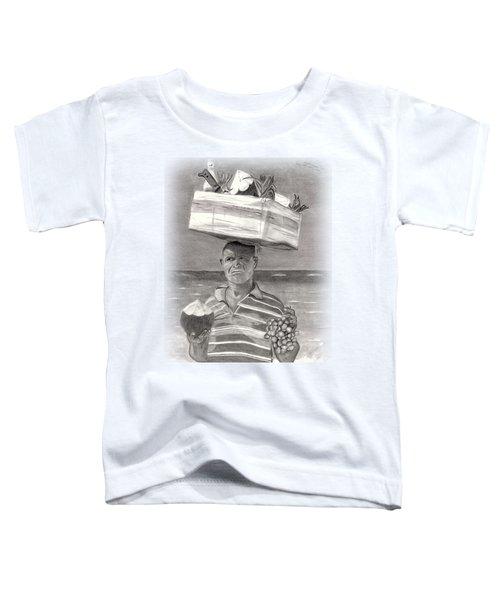 Island Street Vendor Toddler T-Shirt by Tom Podsednik