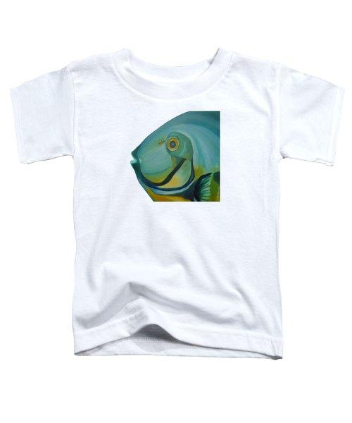 Blue Fish Toddler T-Shirt