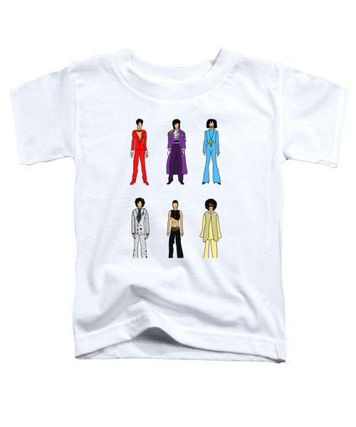 Outfits Of Prince Toddler T-Shirt