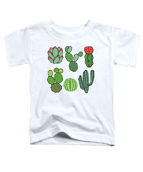 Cacti Toddler T-Shirt