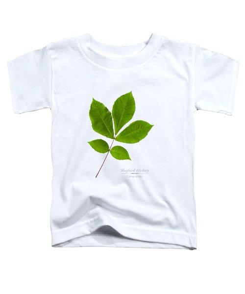 Shagbark Hickory Toddler T-Shirt by Christina Rollo