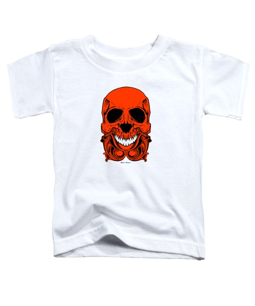 Red Skull  Toddler T-Shirt