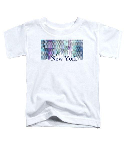 New York Blue Shadows, Toddler T-Shirt