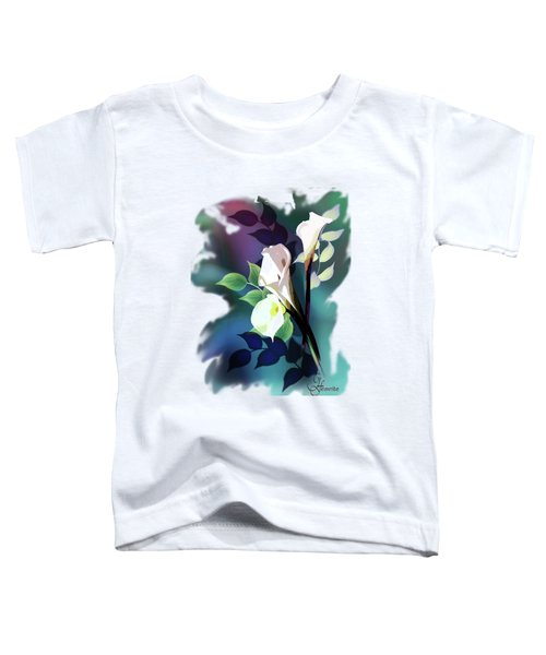 Bouquet In White Toddler T-Shirt
