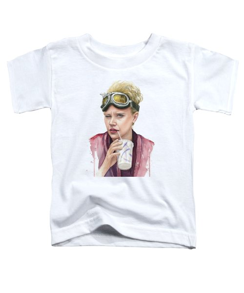 Jillian Holtzmann Ghostbusters Portrait Toddler T-Shirt