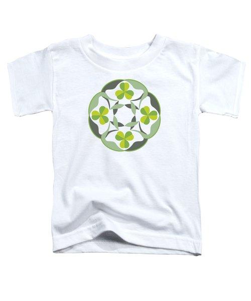 Celtic Inspired Shamrock Graphic Toddler T-Shirt