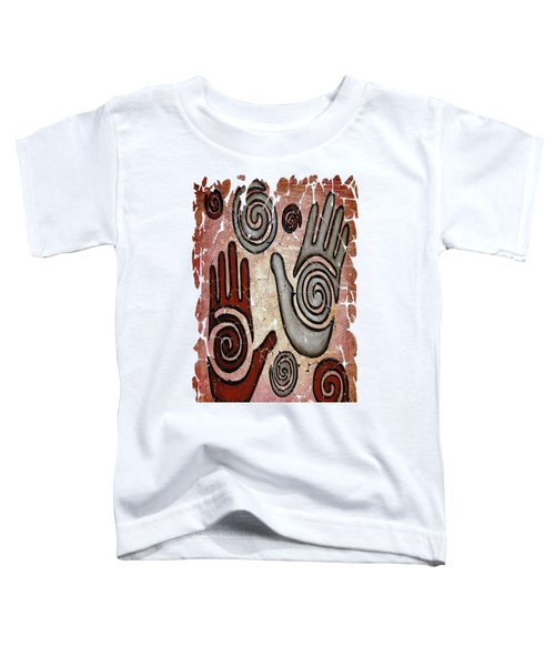 Healing Hands Fresco Toddler T-Shirt
