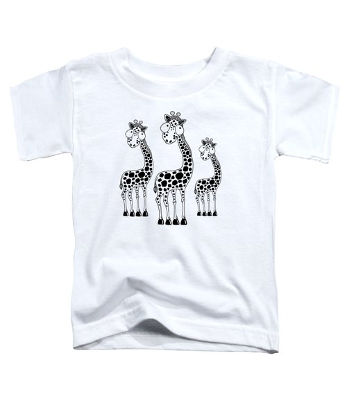 Fudge The Giraffe Toddler T-Shirt