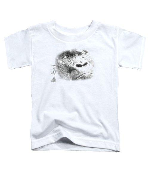 Big Gorilla Toddler T-Shirt by iMia dEsigN