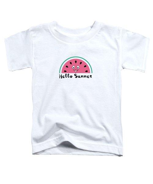 Sweet Watermelons Toddler T-Shirt by Alina Krysko