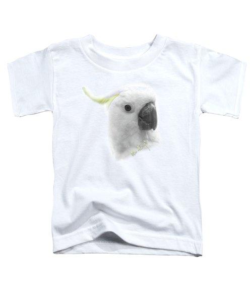 Three Cockatoos Toddler T-Shirt by iMia dEsigN