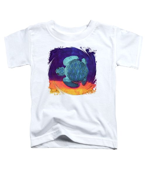 Sea Surfing Toddler T-Shirt by Di Designs