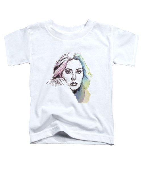 Someone Like You Toddler T-Shirt by Romualdo Salazar