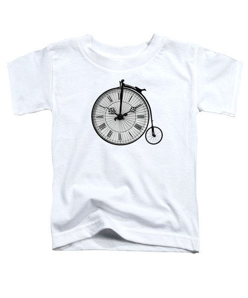 Time To Ride Penny Farthing Toddler T-Shirt