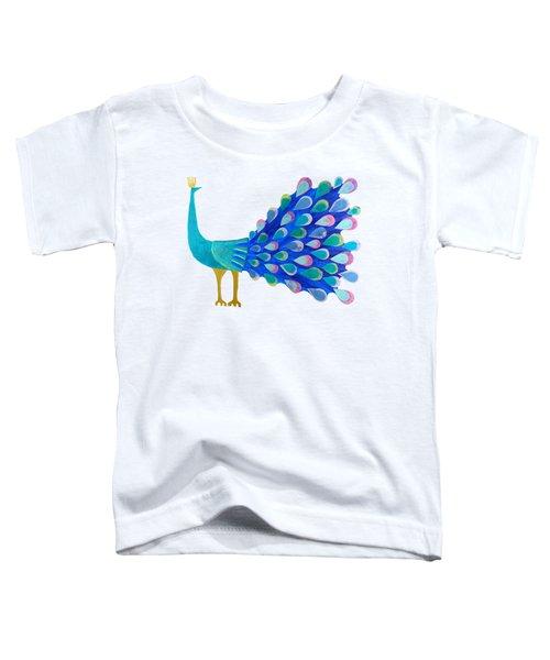 Pretty As A Peacock Toddler T-Shirt
