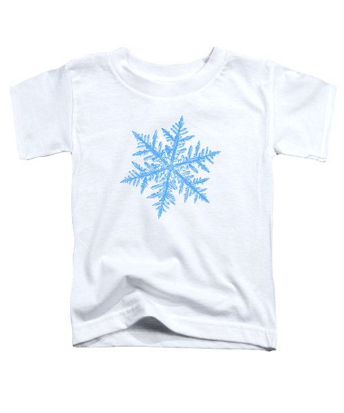 Snowflake Vector - Silverware White Toddler T-Shirt