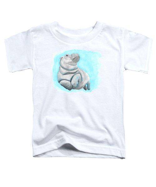 Baby Hippo Underwater Fantasia Ballet Toddler T-Shirt