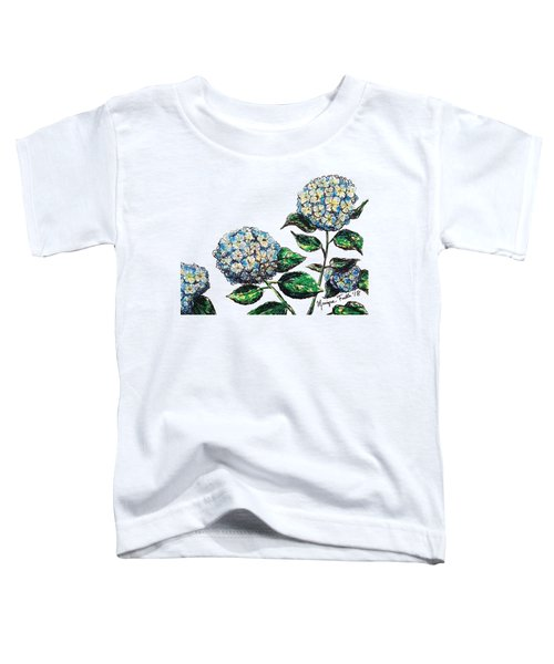 Hydrangeas Toddler T-Shirt