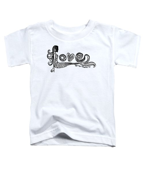Mermaid Love Toddler T-Shirt