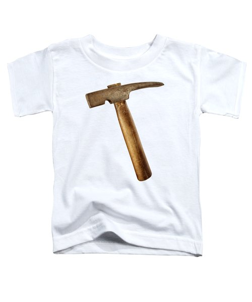 Antique Plumb Masonry Hammer On Color Paper Toddler T-Shirt