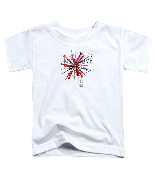 My Faith My Love Toddler T-Shirt
