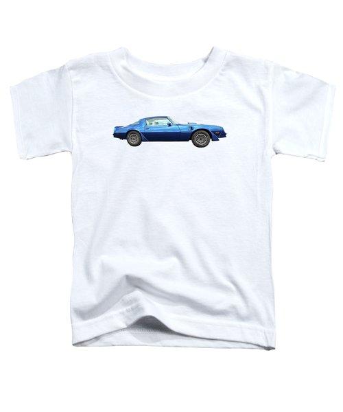 Blue Pontiac Trans Am 1978 Toddler T-Shirt