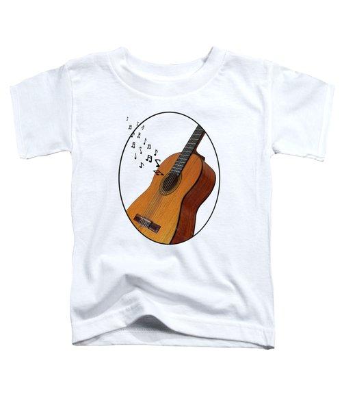 Acoustic Guitar Sounds Toddler T-Shirt