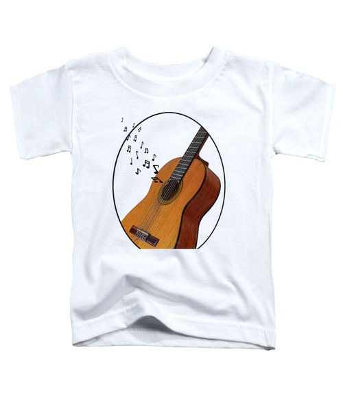 Acoustic Guitar Sounds Toddler T-Shirt