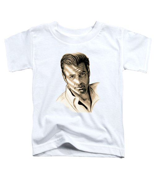 George Clooney Toddler T-Shirt