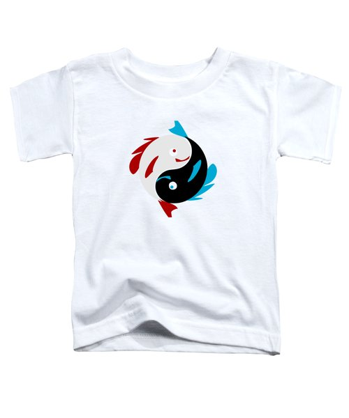 Swimming In Harmony Toddler T-Shirt