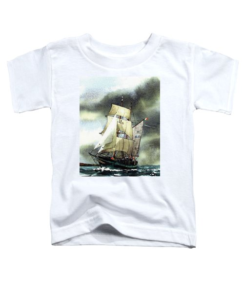 F  758  Asgard 11 Often Sailed Along The Wild Atlantic Way Toddler T-Shirt