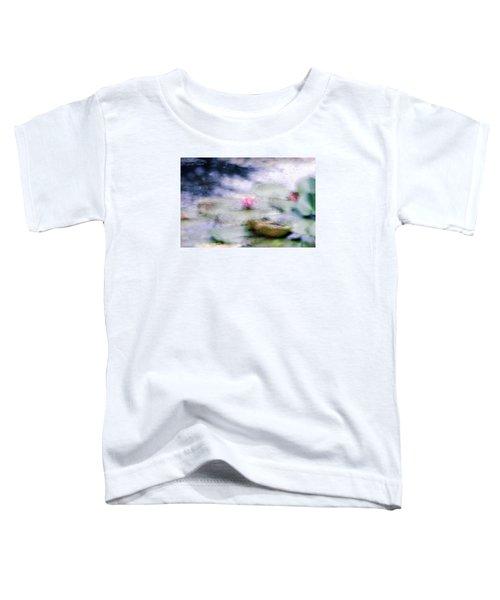At Claude Monet's Water Garden 12 Toddler T-Shirt by Dubi Roman