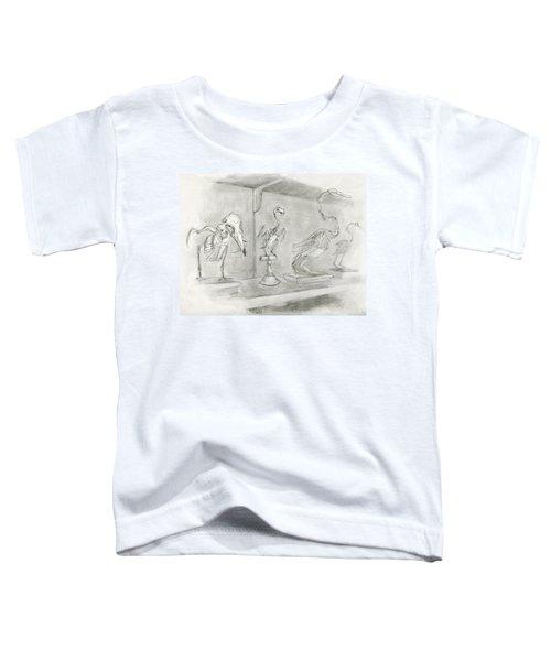 Bird Skeletons Toddler T-Shirt