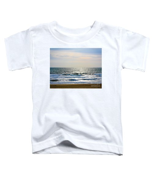 Atlantic Sunrise - Sandbridge Virginia Toddler T-Shirt