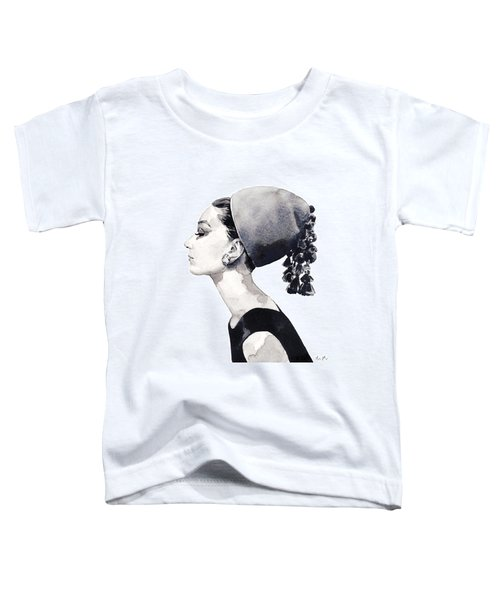 Audrey Hepburn For Vogue 1964 Couture Toddler T-Shirt