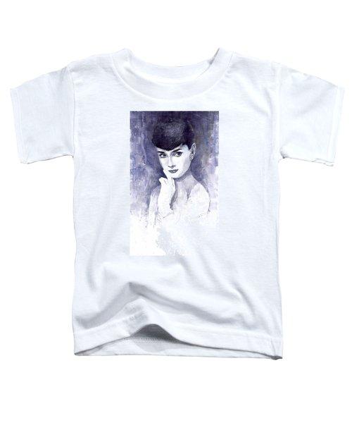 Audrey Hepburn  Toddler T-Shirt