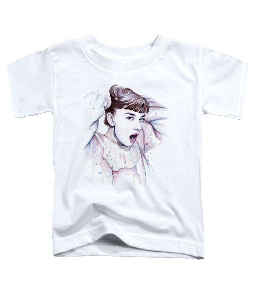 Audrey - Purple Scream Toddler T-Shirt