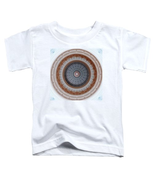 Austin Capitol Dome In Gray And Brown Toddler T-Shirt