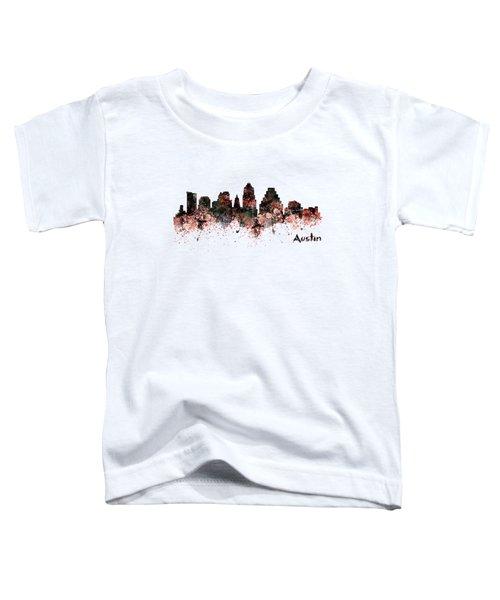 Austin Skyline  Toddler T-Shirt