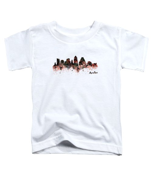 Austin Skyline  Toddler T-Shirt