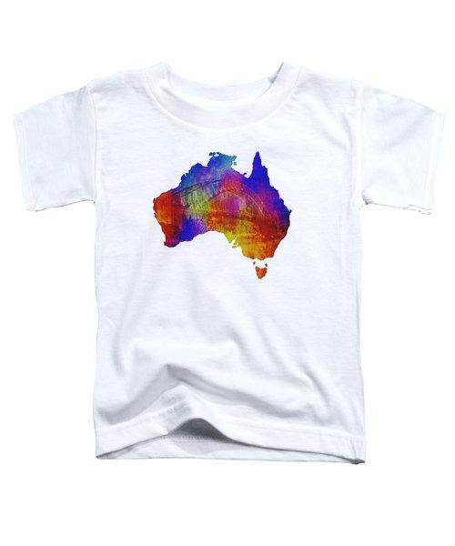 Australia And Sydney Harbour Bridge By Kaye Menner Toddler T-Shirt by Kaye Menner