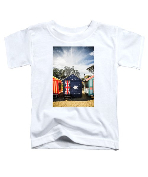 Australia Bathing Boxes Toddler T-Shirt